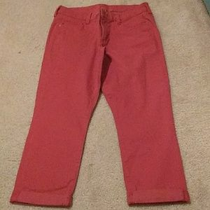 Rust colored Capris
